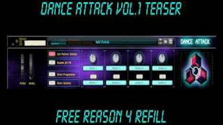 Serpicon3 - Dance Attack Vol.1 (Free Reason Refill download)
