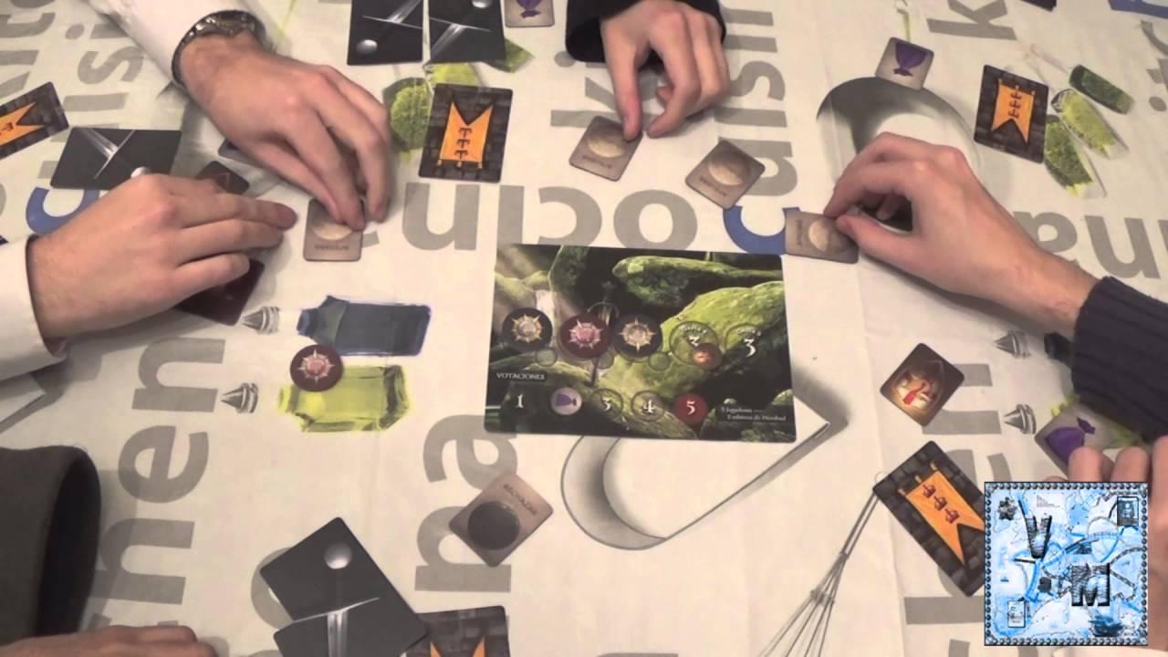 La Resistencia Avalon Juego De Mesa Gameplay Youtube