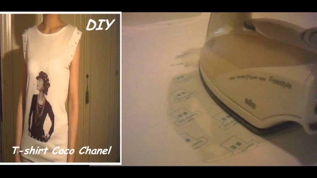 Preferenza DIY Come stampare su una T-shirt - YouTube XG99