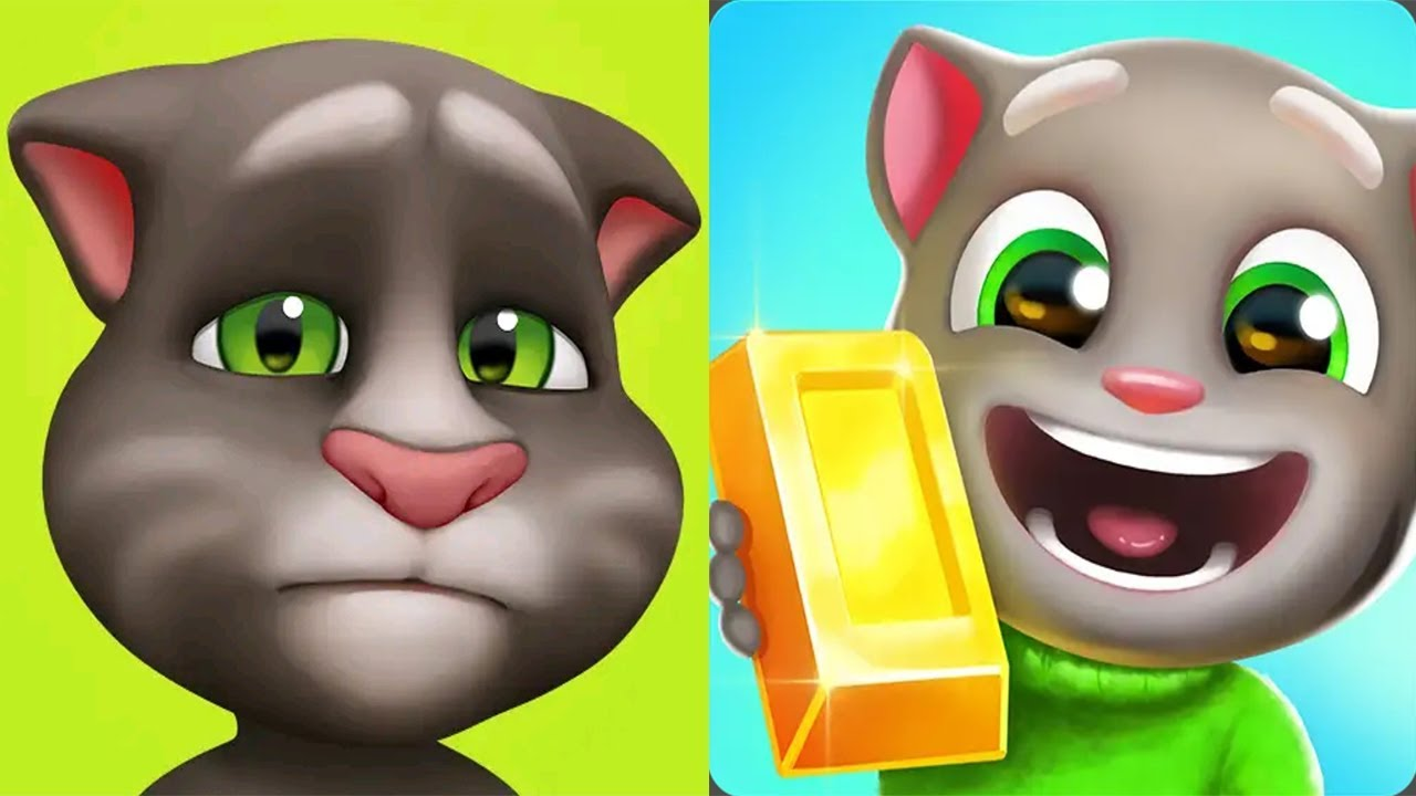 New UpDate My Talking Tom vs Talking Tom Gold Run Android Gameplay 2019