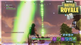 *GLITCHED* LIGHTS FOUND in THE SKY in FORTNITE BATTLE ROYALE (Fortnite Funny & WTF Moment)