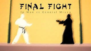 Final Fight: Ip Man vs General Miura - Animation 2D | 4K // (ITA - Sub ENG)