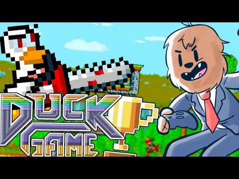 DON'T YOU DARE QUACK AT ME LIKE THAT - DUCK GAME