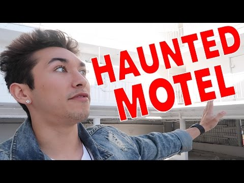EXPLORING AN ABANDONED HAUNTED MOTEL *GONE WRONG*