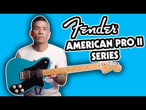 Fender American Professional II Telecaster Deluxe Demo | All The Tones