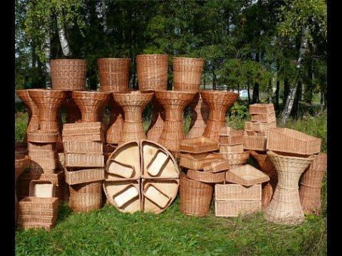 Мастерская плетеных изделий - мебель, короба, корзины. +7 (925) 527 98 08