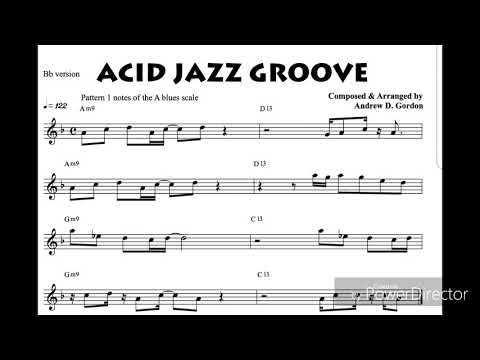 The Blues Scale for Bb instruments: Acid Jazz Groove