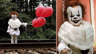 3-Year-Old Dressed as Pennywise the Clown From 'It' May Give You Nightmares