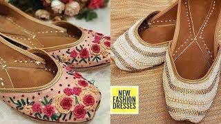 Punjabi Jutti for Ladies | Punjabi Jutti Design | Designer Jutti