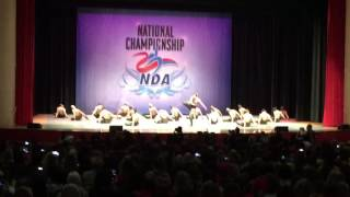 University of Louisville Ladybirds dance team 2017 National Champions