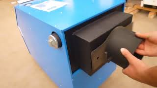 Обзор твердотопливного котла Буржуй Универсал УДГ - 16-30 кВт