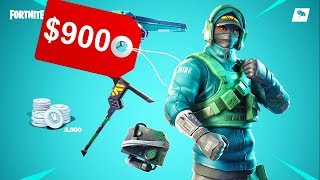 The NEW MOST EXPENSIVE Skin in Fortnite! ($1,000)
