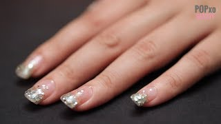 DIY Step By Step Glitter Ombre Nail Art Tutorial | Nail Art Designs With Glitter - POPxo Beauty