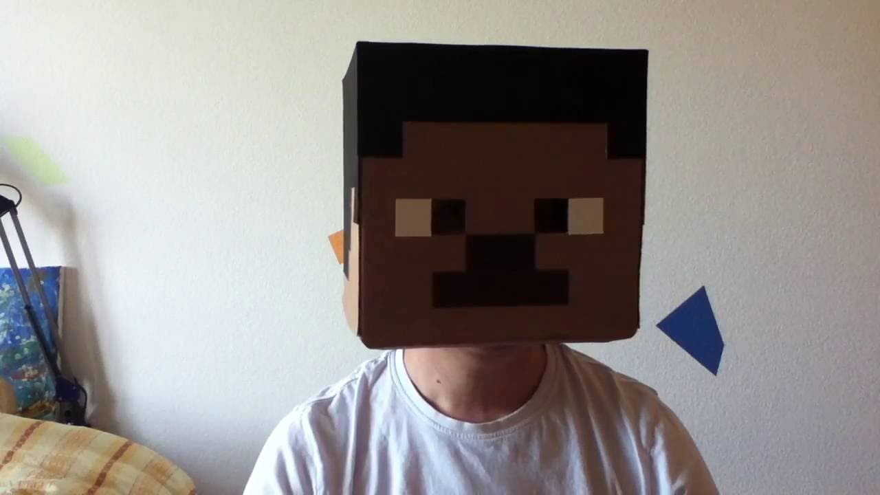 Minecraft Kopf basteln Folge1 - YouTube
