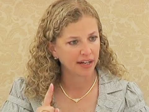 DNC Chair Wasserman Schultz on Women and the 2012 Elections