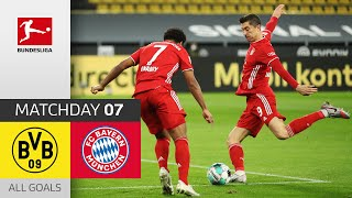 Lewandowski makes the Difference | Borussia Dortmund - Bayern München | 2-3 | All Goals | Matchday 7