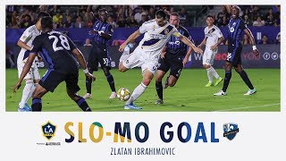 SLO-MO GOAL: Zlatan Ibrahimovic scores his 27th goal of the season