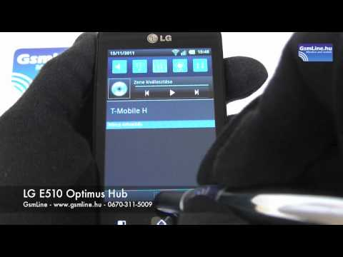 LG E510 Optimus Hub | GsmLine.hu