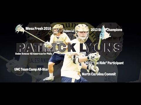 Patrick Lyons 2014 Highlights (Cinematic film) - 2016 University of North Carolina Commit)