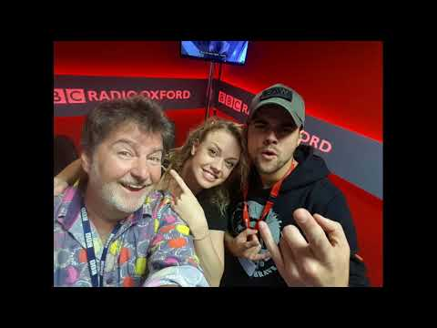 Joanne Clifton and Ben Adams on BBC Radio Oxford