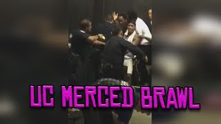 Merced Police fight with crowd (40mm included)