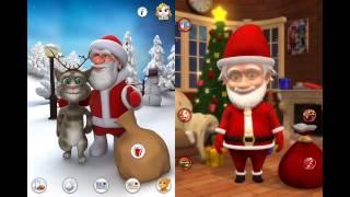 TALKING SANTA Vs PLAYING SANTA - Free Game for iOS: iPhone / iPad and Android screenshot 2
