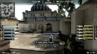 Ninjas In Pyjamas vs Fnatic Grand Finals Dreamhack Winter 2013 (game 1 - dust2)