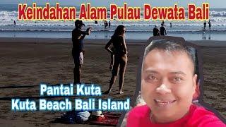 Pantai Kuta Bali (Kute Beach Bali Island), Tripside Tipis-tipis Ke Pulau Dewata