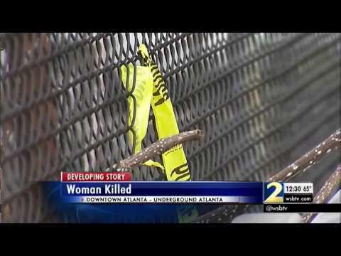 Woman found dead in Underground Atlanta stairwell