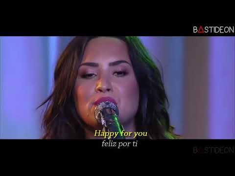 Demi Lovato - Stone Cold (Sub Español + Lyrics)