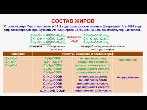 Триглицериды — Википедия