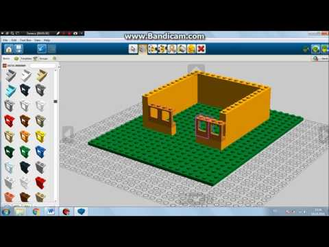 Как создать 3D-объект из деталей ЛЕГО с помощью программы LEGO Digital Designer
