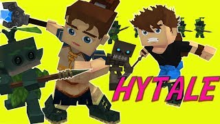 THIS IS WHAT HYTALE WILL LOOK LIKE (HYTALE TRAILER MOD