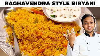 Raghavendra Style Veg Biryani Recipe - Easy Bachelor Friendly CookingShooking Recipe