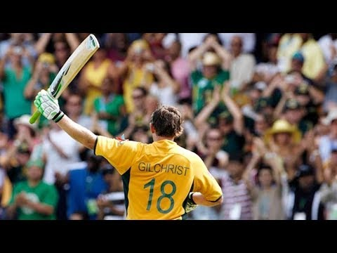 Top 10 sixes of Adam Gilchrist