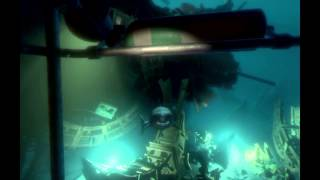 The Deep gameplay underwater shark attack E3 2015 trailer - PS4 exclusive
