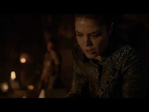 The 100 4x03 The Flame gets smached