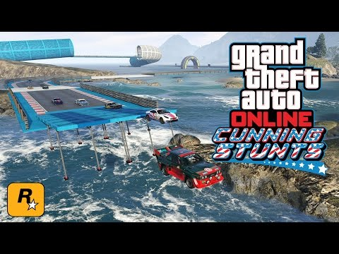 Cunning Stunts Races w/ Swiftor, McJuggerNuggets, Daym Drops & More (GTA Online Live Stream)