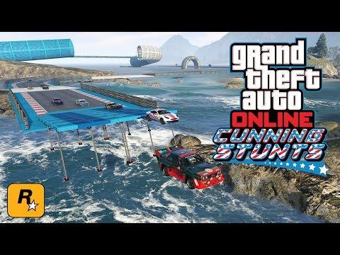 Cunning Stunts Races w/ Swiftor, McJuggerNuggets, Daym Drops & More (GTA Online Live Stream)