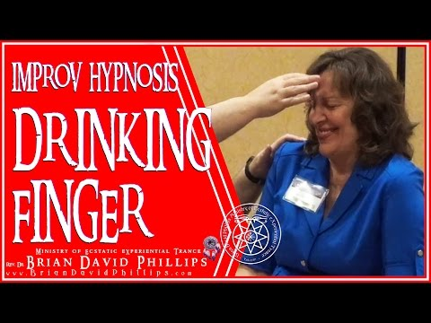 Hypnotic Drinking Finger