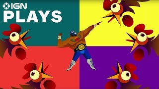 Guacamelee 2 - Four Player Chicken Gang Gameplay With Developers - IGN Plays
