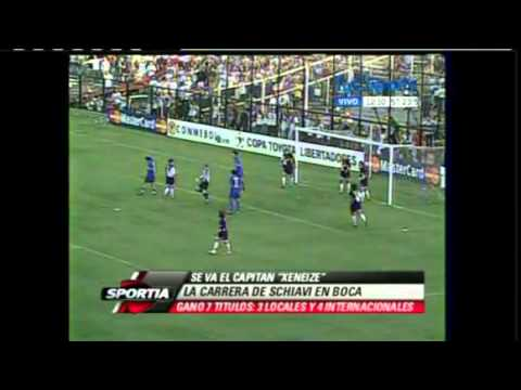 La carrera de Schiavi en Boca