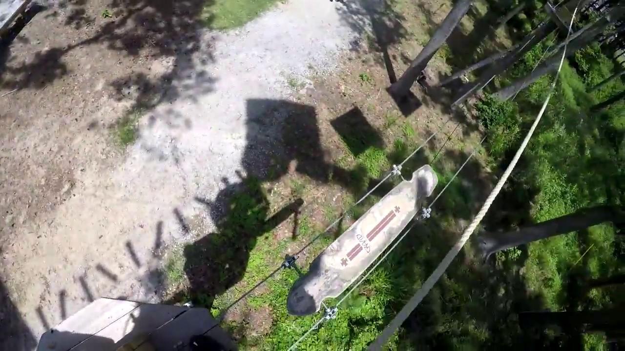 Aerial Adventure Park Level 1 At Radical Ropes Myrtle Beach Sc On Ride Pov