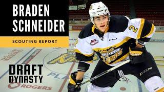 Braden Schneider highlights 2020 NHL draft