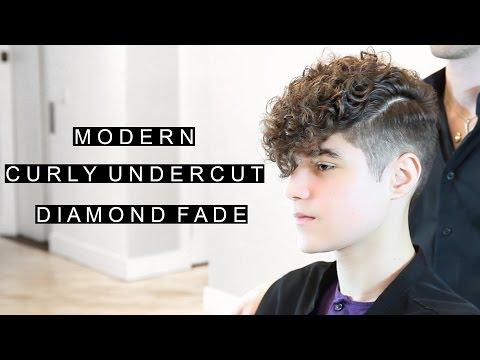 Modern Curly Undercut | Diamond Fade | Unique Men's Hairstyle | CSC