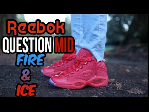 d7d27bc505c2b9 Teyana Taylor Reebok Question Mid Review w On Foot - YouTube