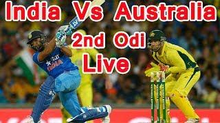 INDvAUS 2nd Odi Live: कोहली के बाद धोनी भी आउट, बैकफुट पर टीम इंडिया