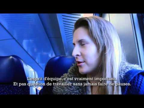 À bord du Bratislava Vienna express