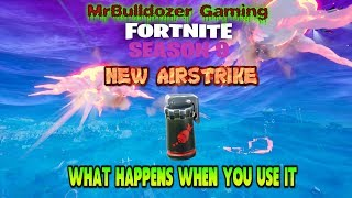 🚀🚀 New Airstrike Added to Fortnite How to get them & What Happens when the Airstrike Goes Off 🚀🚀