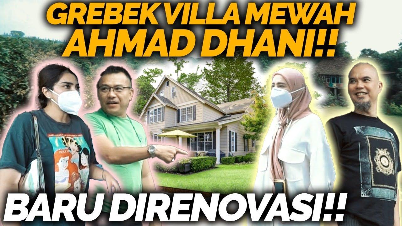 GREBEK VILLA AHMAD DHANI DI PUNCAK, KELUARGA ASIX DITRAKTIR MAKAN SEPUASNYA!!